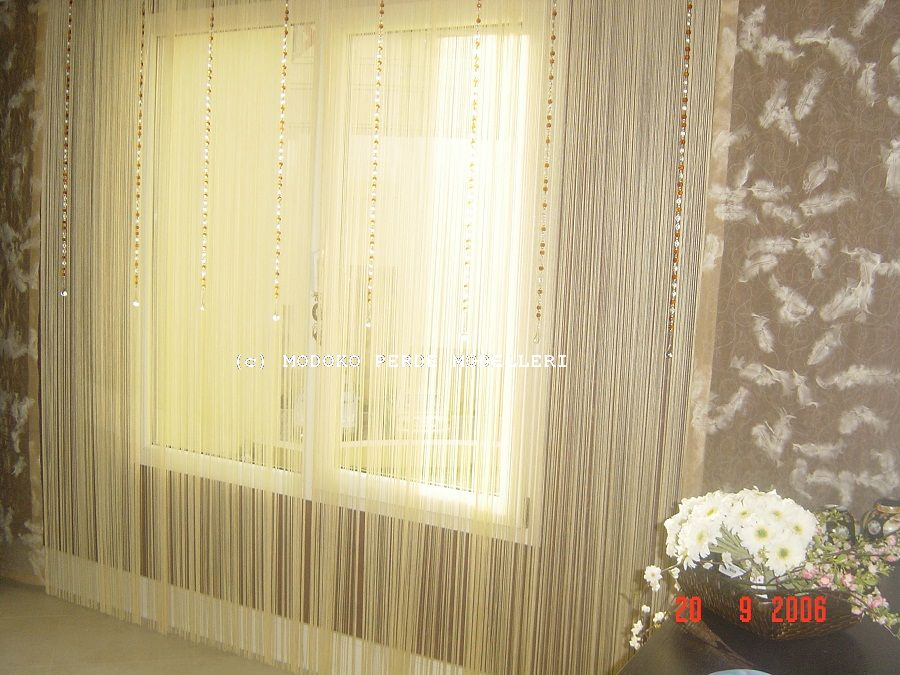 Japanese Panel Blinds ( with rope curtain )- DSC07116.JPG