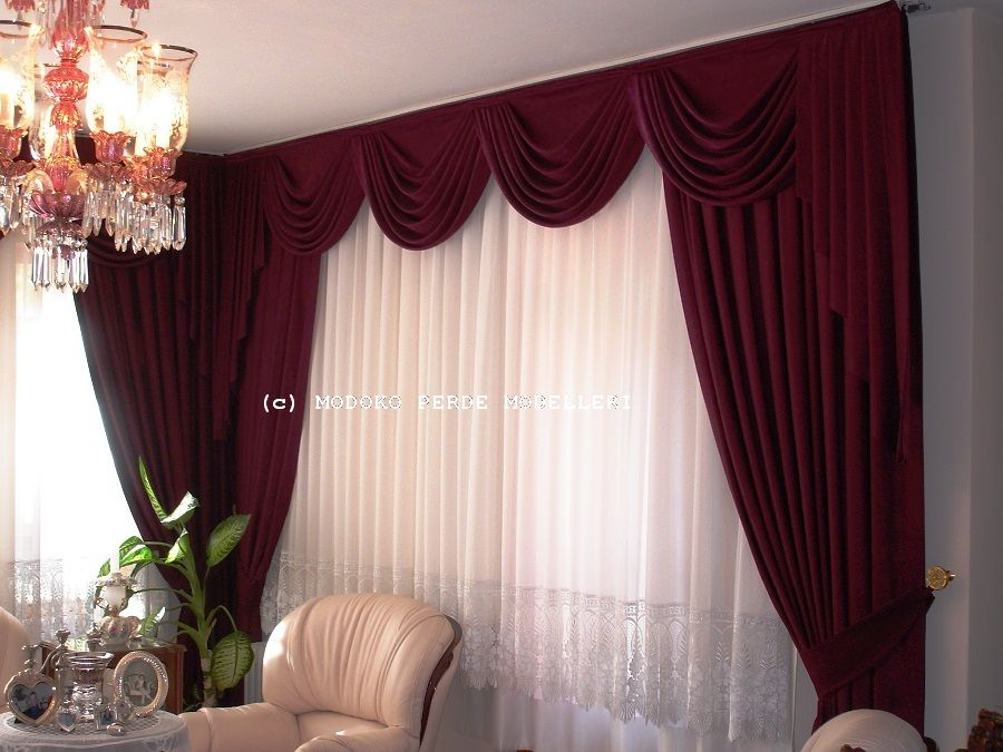 Pipe Pleated Curtain with Drape- Resim 129.jpg