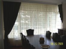 Kanun Pleated Curtain (  with greg tulle  )- 100_2078.JPG